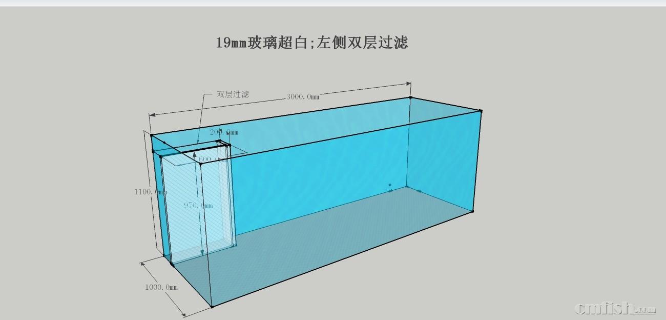 鱼缸设计图