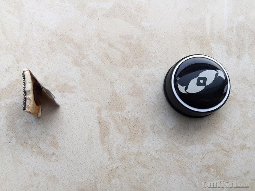 两只小鱼的磁力刷的隐患,提醒大家慎用.