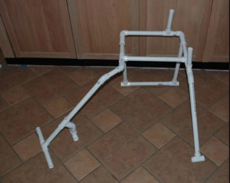 pvc管手工制作椅子