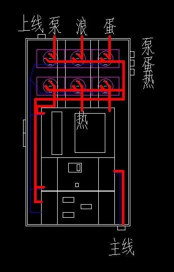 电路也是diy,主要是3路定时器,漏电开关,防水电箱.