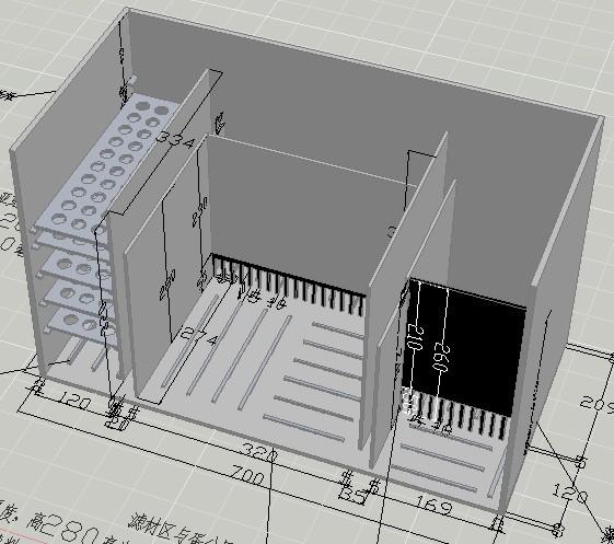 海水缸底缸过滤系统设计草图-完整版(提供源文件)