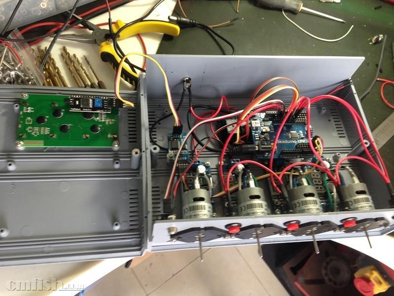 完全分享利用arduino制作的单片机控制4头滴定