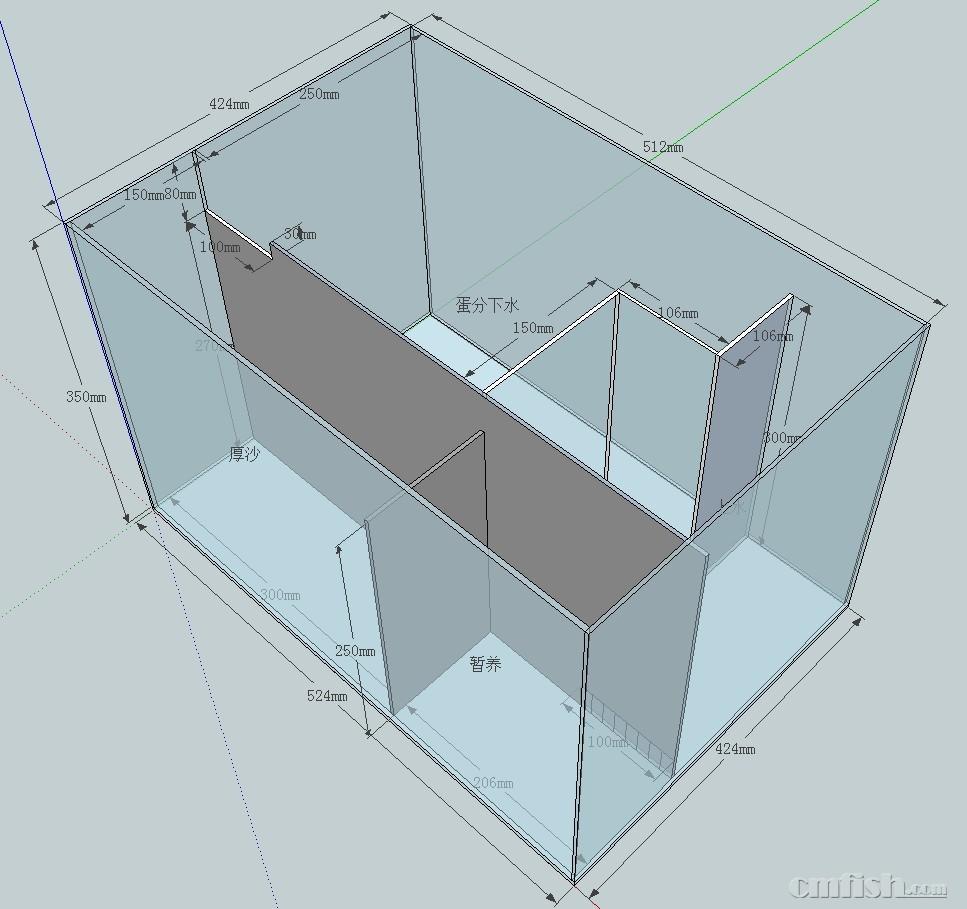 底缸设计求教 - 初学者(beginners) - cmf海水观赏鱼