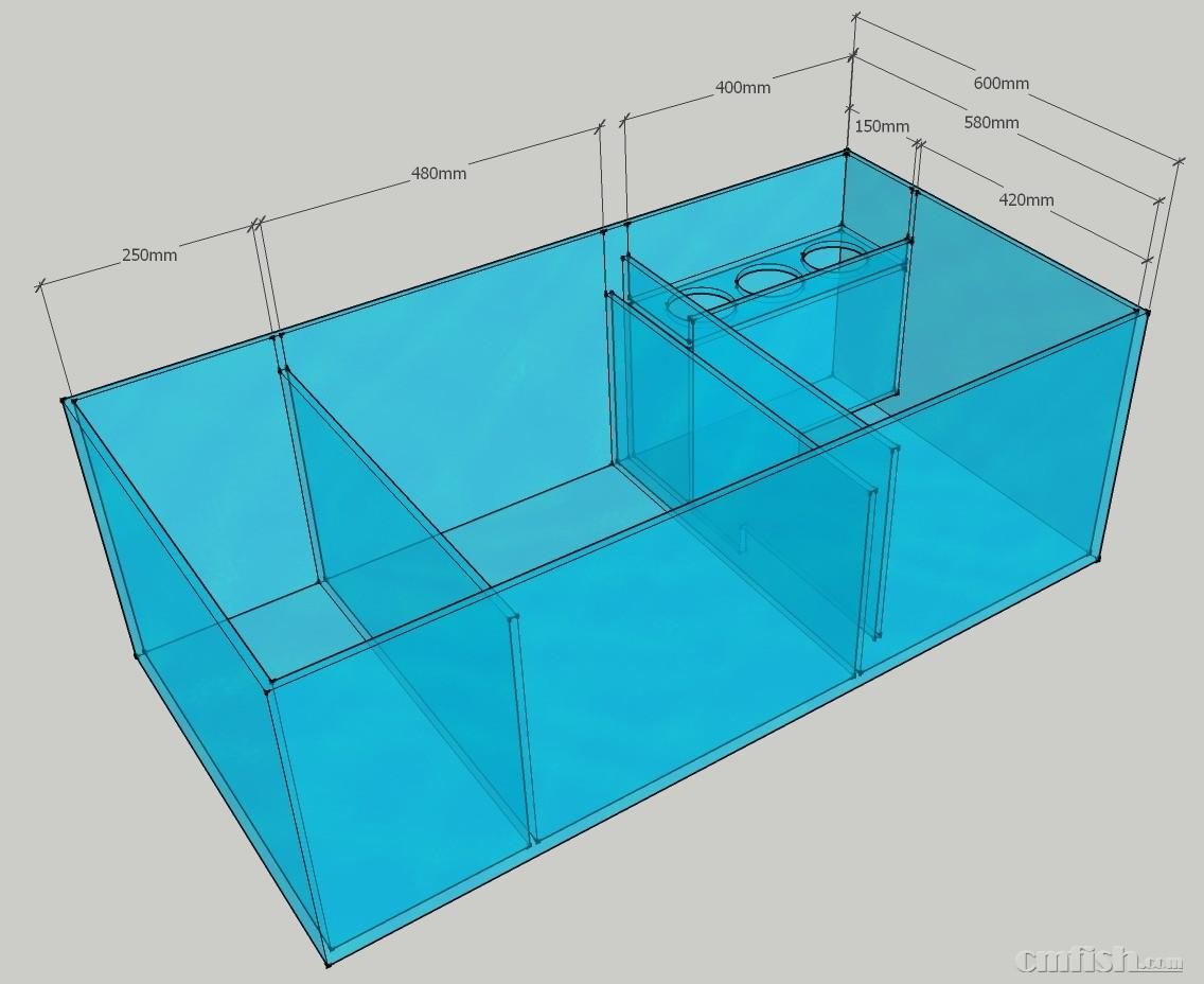 方形包装桶设计图